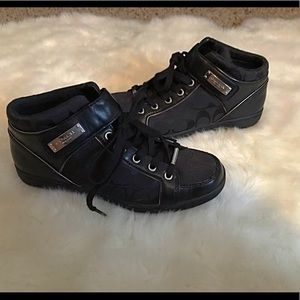 NWOT Coach Logo And Leather Shoes Sz 8